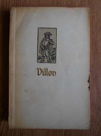 Anticariat: Francois Villon - Balade si alte poeme