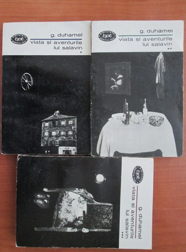 Anticariat: G. Duhamel - Viata si aventurile lui Salavin (3 volume)
