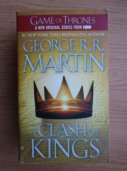 Anticariat: George R. R. Martin - A clash of kings