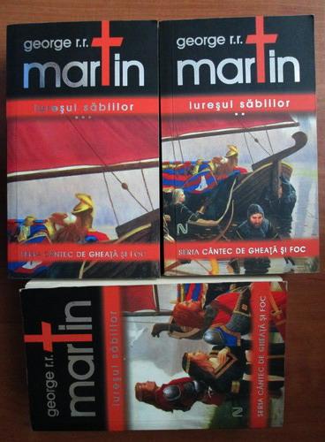 Anticariat: George R. R. Martin - Iuresul sabiilor (3 volume)