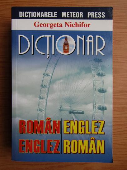 Anticariat: Georgeta Nechifor - Dictionar roman-englez, englez-roman
