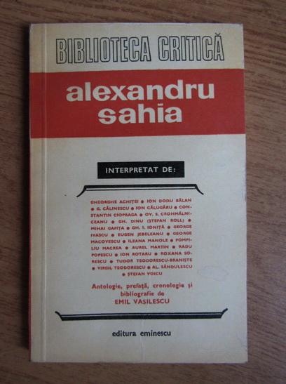 Anticariat: Gheorghe Achitei, George Calinescu, Ion Rotaru - Alexandru Sahia