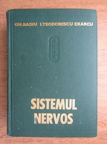 Anticariat: Gheorghe Badiu - Sistemul nervos