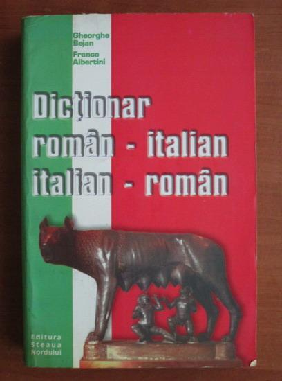 Anticariat: Gheorghe Bejan - Dictionar roman-italian, italian-roman