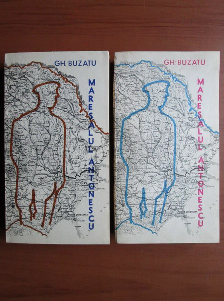 Anticariat: Gheorghe Buzatu - Maresalul Antonescu in fata istoriei (2 volume)
