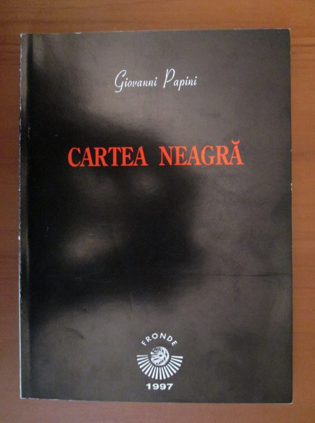 Anticariat: Giovanni Papini - Cartea neagra