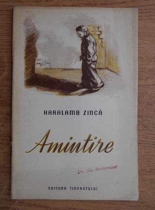 Anticariat: Haralamb Zinca - Amintire