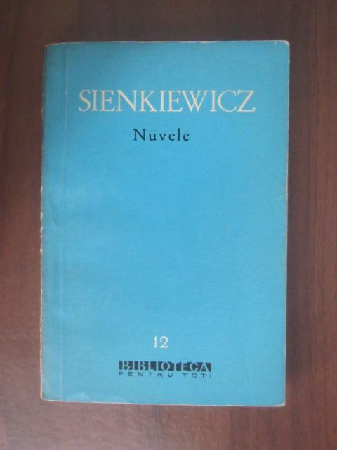 Anticariat: Henryk Sienkiewicz - Nuvele