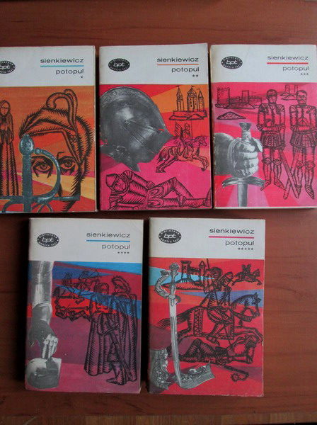 Anticariat: Henryk Sienkiewicz - Potopul (5 volume)