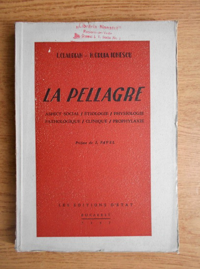 Anticariat: I. Claudian - La pellagre
