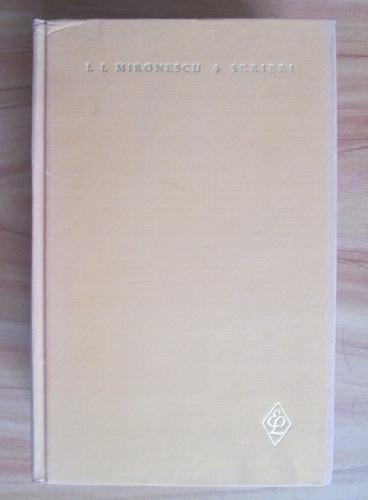 Anticariat: I. I. Mironescu - Scrieri