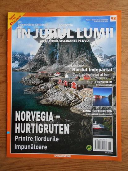 Anticariat: In jurul lumii, Norvegia-Hurtigruten, nr. 98, 2010