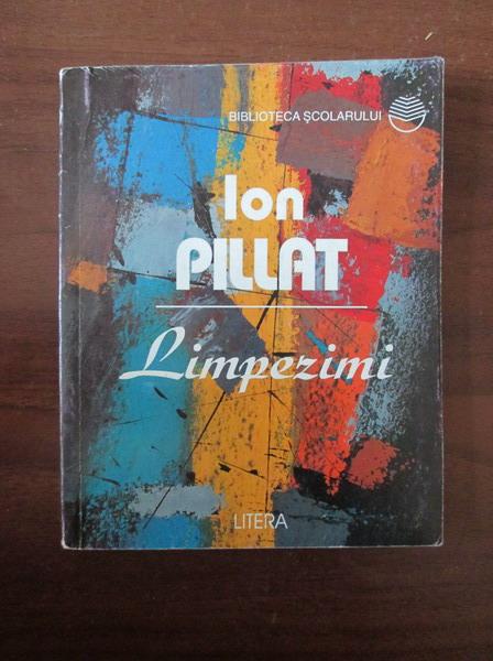 Anticariat: Ion Pillat - Limpezimi