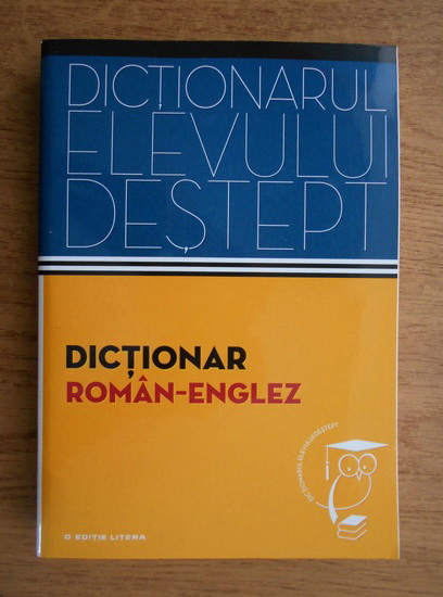 Anticariat: Irina Panovf - Dictionar roman englez. Dictionarul elevului destept