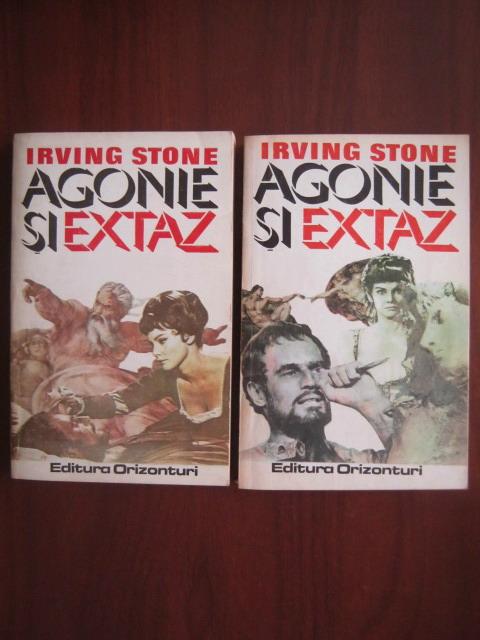 Anticariat: Irving Stone - Agonie si extaz (2 volume)