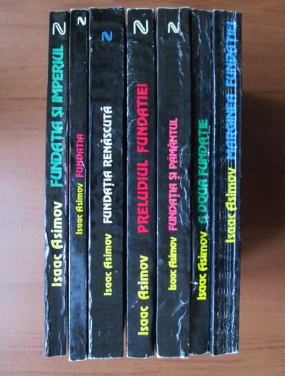 Anticariat: Isaac Asimov - Seria Fundatia (7 volume)