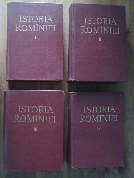 Anticariat: Istoria Romaniei (4 volume, editura Academiei  1960-1964)
