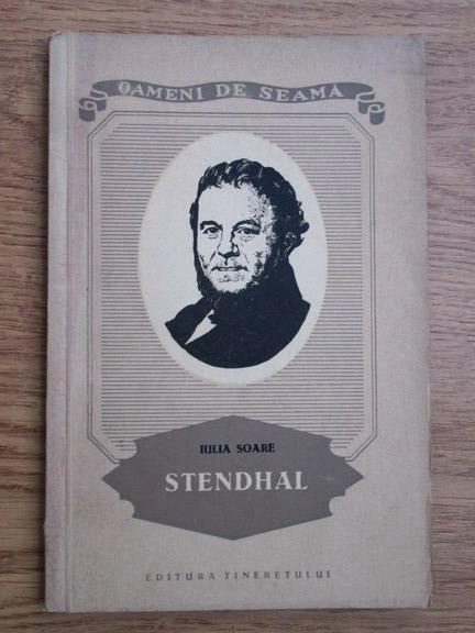 Anticariat: Iulia Soare - Stendhal