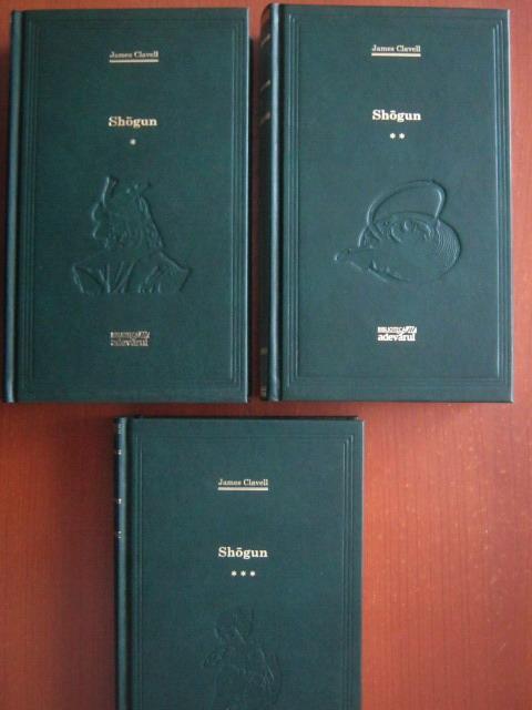 Anticariat: James Clavell - Shogun (3 volume) (Adevarul)