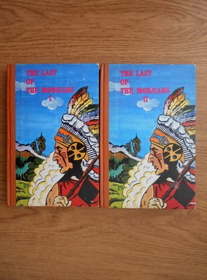 Anticariat: James Fenimore Cooper - The last of the mohicans (2 volume)