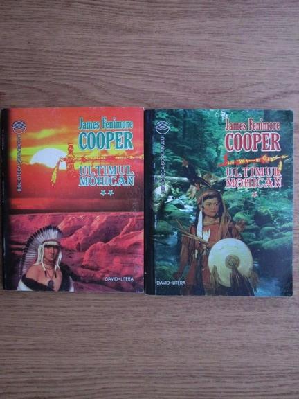 Anticariat: James Fenimore Cooper - Ultimul mohican (2 volume)