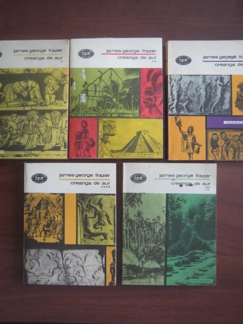 Anticariat: James George Frazer - Creanga de aur (5 volume)