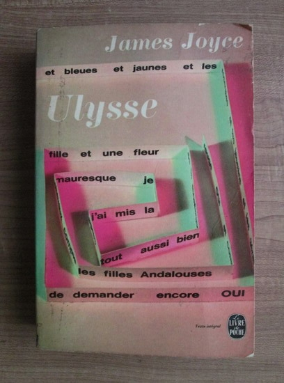 Anticariat: James Joyce - Ulysse (in limba franceza)