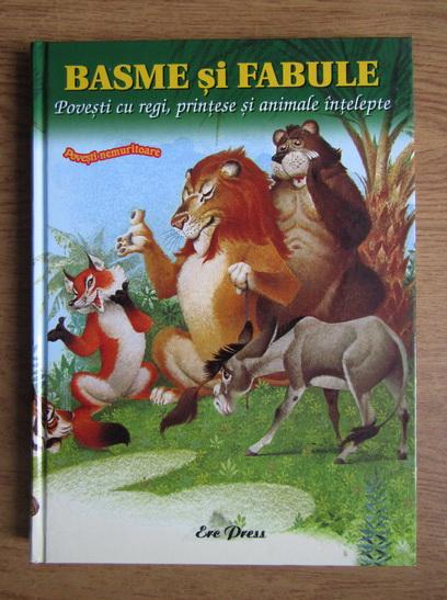 Anticariat: Jean de La Fontaine, Carlo Gozzi - Basme si fabule. Povesti cu regi, printese si animale intelepte