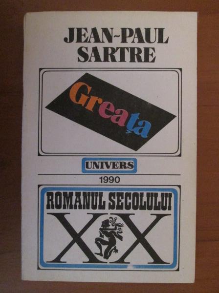 Anticariat: Jean-Paul Sartre - Greata