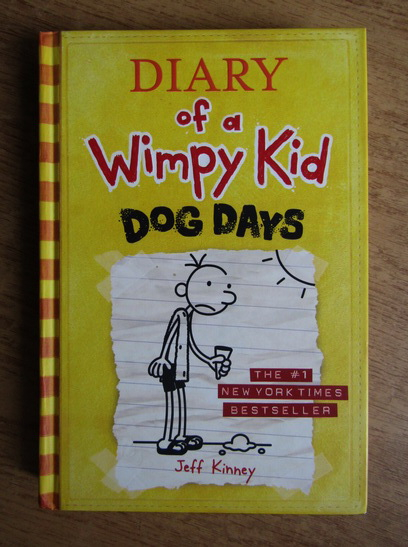 Anticariat: Jeff Kinney - Diary of a Wimpy Kid. Dog days