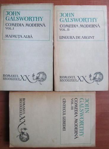 Anticariat: John Galsworthy - Comedia moderna (3 volume)