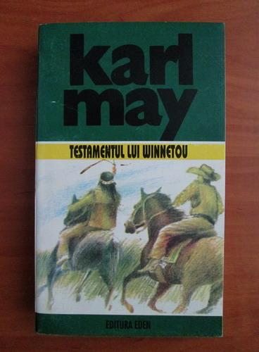 Anticariat: Karl May - Opere, volumul 24. Testamentul lui Winnetou
