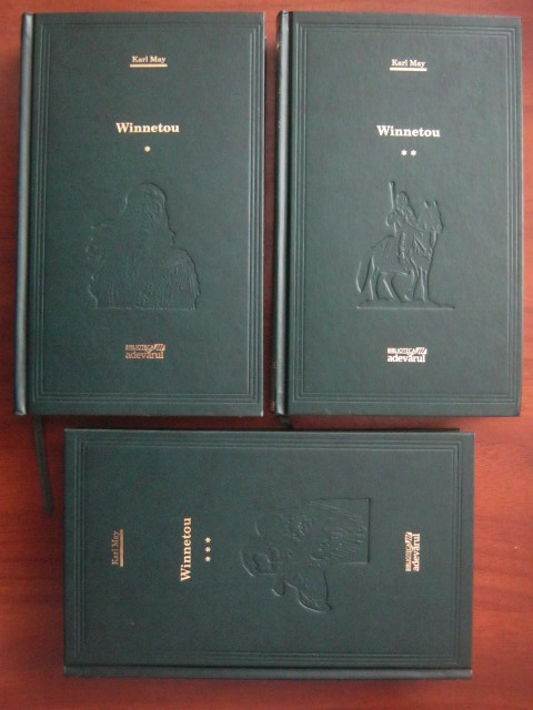 Anticariat: Karl May - Winnetou (3 volume) (Adevarul)