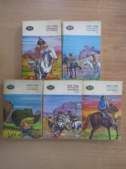 Anticariat: Karl May - Winnetou (5 volume)