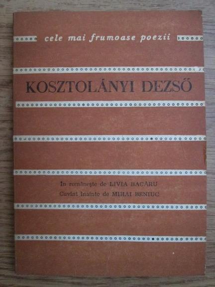 Anticariat: Kosztolanyi Dezso - Poeme