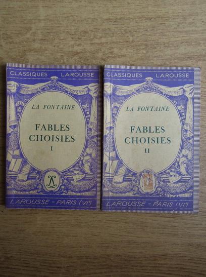 Anticariat: La Fontaine - Fables choisies (2 volume, 1934)