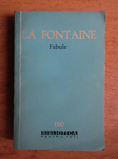 Anticariat: La Fontaine - Fabule