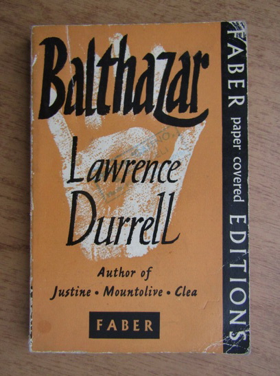 Anticariat: Lawrence Durrell - Balthazar
