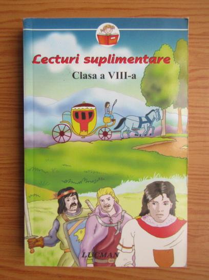Anticariat: Lecturi suplimentare. Clasa a VIII-a
