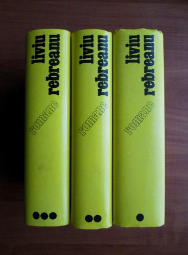 Anticariat: Liviu Rebreanu - Romane (3 volume)
