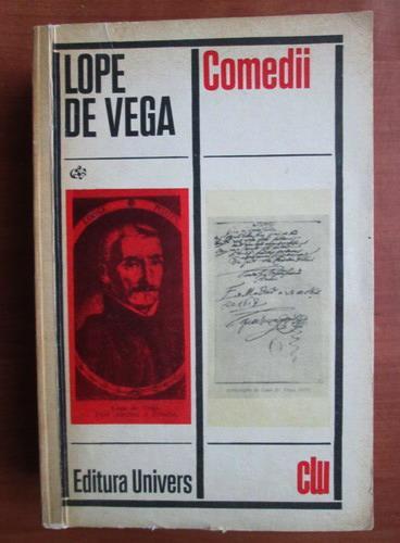 Anticariat: Lope de Vega - Comedii