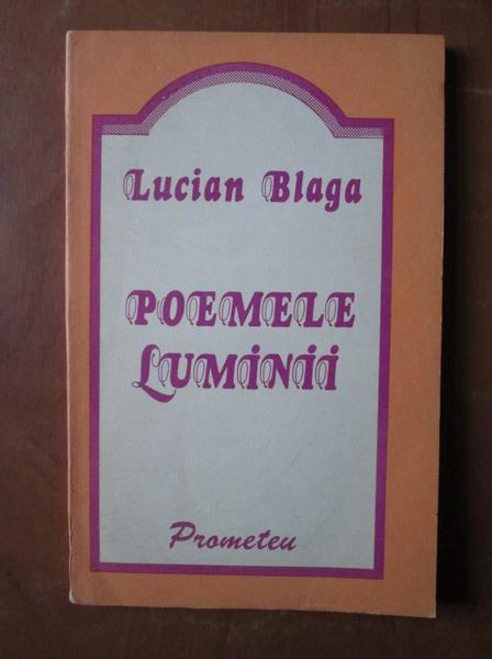 Image result for poemele luminii lucian blaga