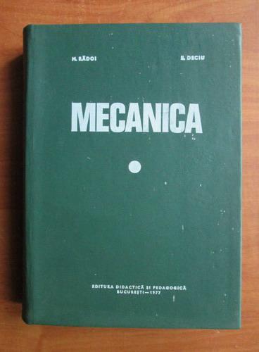 Anticariat: M. Radoi - Mecanica