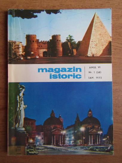 Anticariat: Magazin istoric, Anul VI, Nr. 1 (58), ianuarie 1972