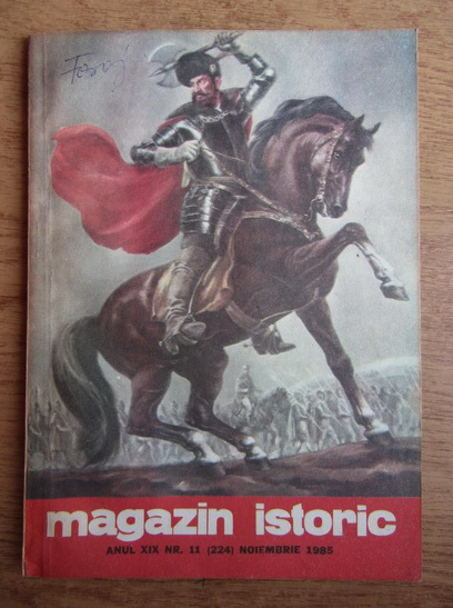 Anticariat: Magazin istoric, Anul XIX, Nr. 11 (224), noiembrie 1985