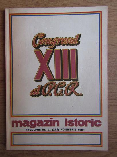 Anticariat: Magazin istoric, nr. 11, noiembrie 1984
