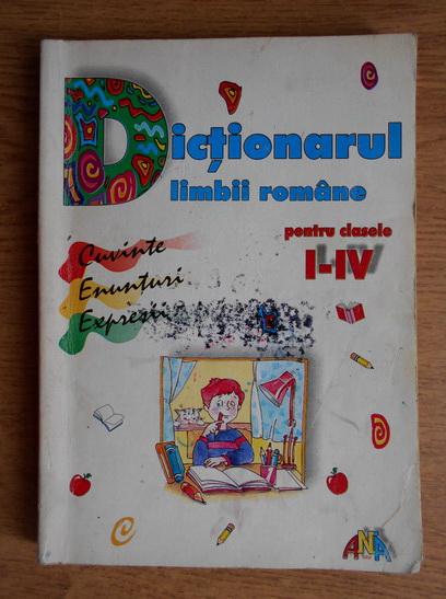 Anticariat: Marcela Penes - Dictionarul limbii romane pentru clasele I-IV