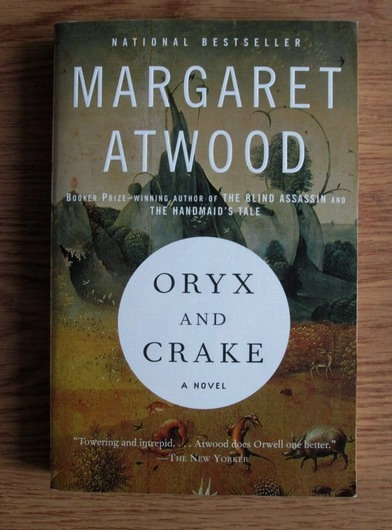 Anticariat: Margaret Atwood - Oryx and Crake