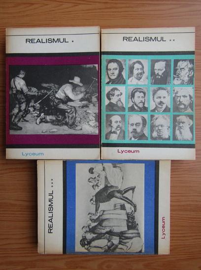 Anticariat: Marin Popa - Realismul (3 volume)