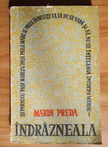Anticariat: Marin Preda - Indrazneala